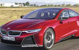 """""""Đàn em"""" của BMW i8 sẽ làm khó Tesla Model S"""