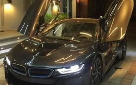 Chồng sắp cưới của Midu tậu chiếc BMW i8 đầu tiên tại Việt Nam
