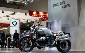 Ducati Scrambler gọi, BMW R NineT Scrambler trả lời
