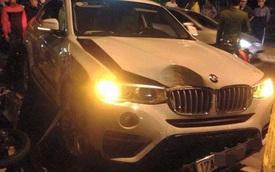 Thái Bình: BMW X4 húc đuôi xe Air Blade, 1 người bị thương