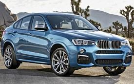 Xe SUV tính năng cao BMW X4 M40i chính thức trình làng