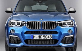 Phiên bản mạnh hơn của SUV hạng sang BMW X4 bất ngờ lộ diện