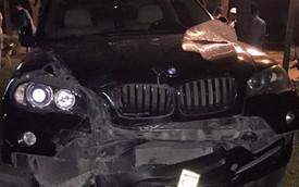 Hà Nội: Xe sang BMW X5 đâm gãy chân một phụ nữ mang thai