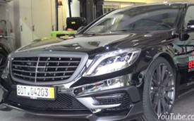 """Mercedes-Benz S63 AMG độ """"nẹt pô"""", một góc Monaco như rung chuyển"""