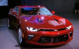 """Xe """"cơ bắp"""" Chevrolet Camaro 2016 chính thức trình làng"""