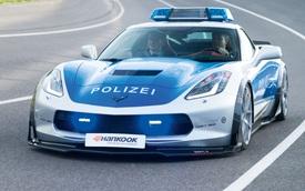 Chevrolet Corvette phiên bản truy đuổi tội phạm trình làng