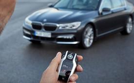 Khám phá chìa khóa công nghệ cao của BMW 7-Series thế hệ mới