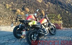 Ducati Scrambler 400 lần đầu tiên lộ diện