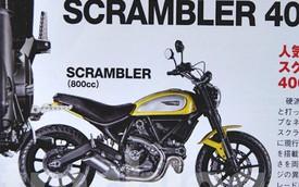 Ducati Scrambler có phiên bản 400 phân khối mới, giá rẻ hơn