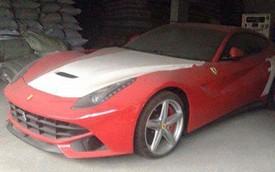 Xót xa với siêu xe Ferrari F12 Berlinetta phủ bụi tại Việt Nam