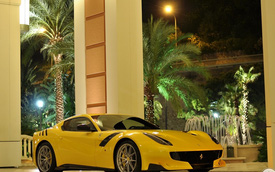 Cặp Ferrari F12tdf đầu tiên chuyển đến thiên đường siêu xe Monaco