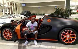 Floyd Mayweather lại gây choáng khi mua thêm siêu xe Bugatti Veyron