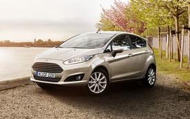 """Ford Fiesta 2015 chỉ """"ngốn"""" 3,2 lít nhiên liệu trên 100 km"""