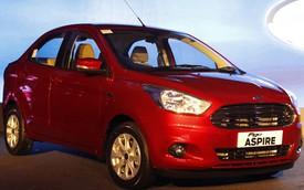 Xe trị giá chưa đến 200 triệu Đồng Ford Figo Aspire trình làng