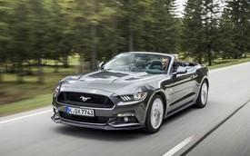 """""""Ngựa hoang"""" Ford Mustang lần đầu tiên đến lục địa già"""