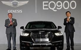 """Chiêm ngưỡng xe sang Genesis G90 """"bằng xương, bằng thịt"""""""