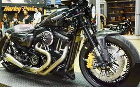"""Mô tô Harley-Davidson """"ăn theo"""" phong cách Lamborghini Aventador SV"""