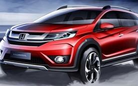 Nội thất của SUV 7 chỗ Honda BR-V đẹp hơn Mobilio giá rẻ