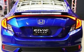 Honda Civic Coupe thế hệ mới chính thức trình làng