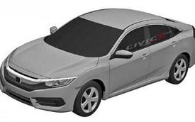 Honda Civic thế hệ mới bất ngờ lộ diện