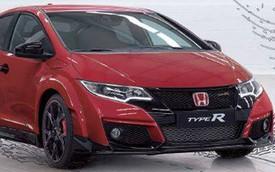Honda Civic Type R phiên bản sản xuất: Nhạt hơn xe concept