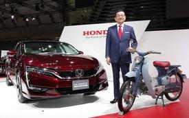 Honda Clarity Fuel Cell - Đối thủ nặng ký của Toyota Mirai
