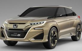 Honda concept D – Xe crossover cỡ nhỏ hoàn toàn mới