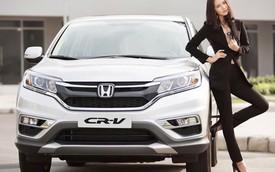 Mới ra mắt, Honda CR-V 2015 đã nhanh chóng hút khách Việt