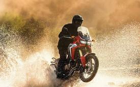 Honda CRF1000L Africa Twin 2016 tuyên chiến với Ducati Multistrada