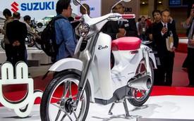 """Ngắm Honda EV Cub """"bằng xương, bằng thịt"""""""