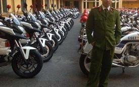 CSGT Hà Nội có dàn môtô phân khối lớn mới