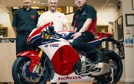 Siêu mô tô 5 tỷ Đồng Honda RC213V-S đầu tiên đến tay chủ nhân