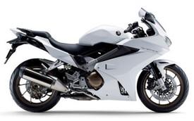 Honda VFR800F 2015 thêm màu trắng tinh khôi mới