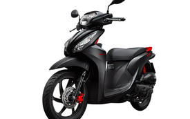Honda Vision màu mới chính thức ra mắt, giá không đổi