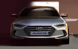 Hyundai Avante thế hệ mới lộ diện sớm