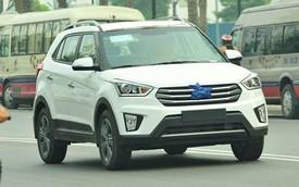SUV giá rẻ Hyundai Creta bất ngờ xuất hiện trên đường Hà Nội