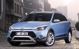Hyundai i20 Active phiên bản đẹp hơn xe ở Việt Nam ra mắt