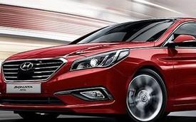Hyundai nâng cấp Sonata 2016 tại Hàn Quốc