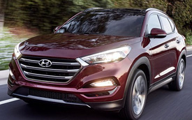 Hyundai giới thiệu Tucson 2016 điều chỉnh thiết kế