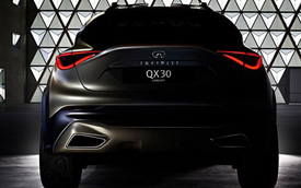Infiniti QX30 - Phiên bản Nhật của Mercedes-Benz GLA