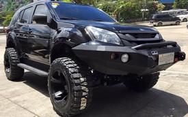 Isuzu MU-X phong cách xe Người Dơi của ngôi sao bóng rổ Philippines