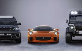 """Vén màn ba xe sang Jaguar Land Rover trong """"Điệp Viên 007"""""""