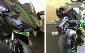 Siêu môtô Kawasaki Ninja H2 đã về Việt Nam, giá ngang Toyota Camry