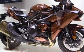 Đây là chiếc Kawasaki Ninja H2 mà ai cũng phải ngoái nhìn