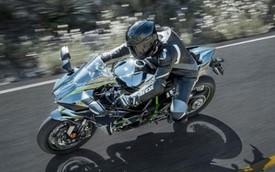Siêu môtô Kawasaki Ninja H2 cập bến Đông Nam Á