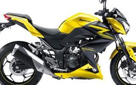 Kawasaki giới thiệu Z250 phiên bản nâng cấp