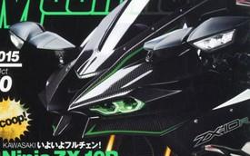 Kawasaki Ninja ZX-10R 2016 sẽ có thiết kế giống siêu mô tô Ninja H2