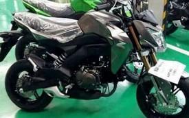 """""""Tiểu Z1000"""" Kawasaki Z125 lộ diện, cạnh tranh với Honda MSX125"""
