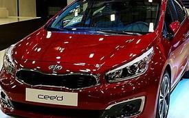 Chiêm ngưỡng sớm xe hatchback Hàn Quốc Kia cee'd 2016