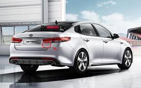 Diện kiến sớm Kia Optima GT 2016 dành cho người châu Âu